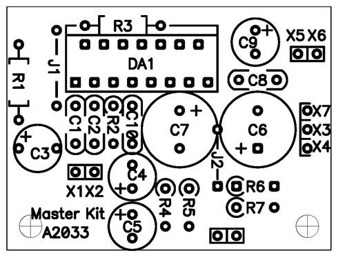 Схема монтажная BM2033