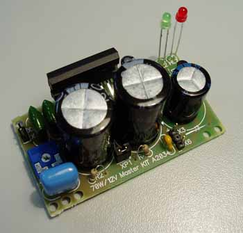 электрическая схема восход