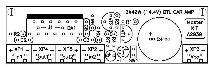 Схема усилителя tda8563q