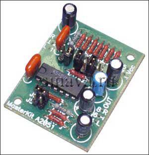 Микрофонный усилитель (двухканальный) Устройство используется в качестве микрофонного предусилителя в...