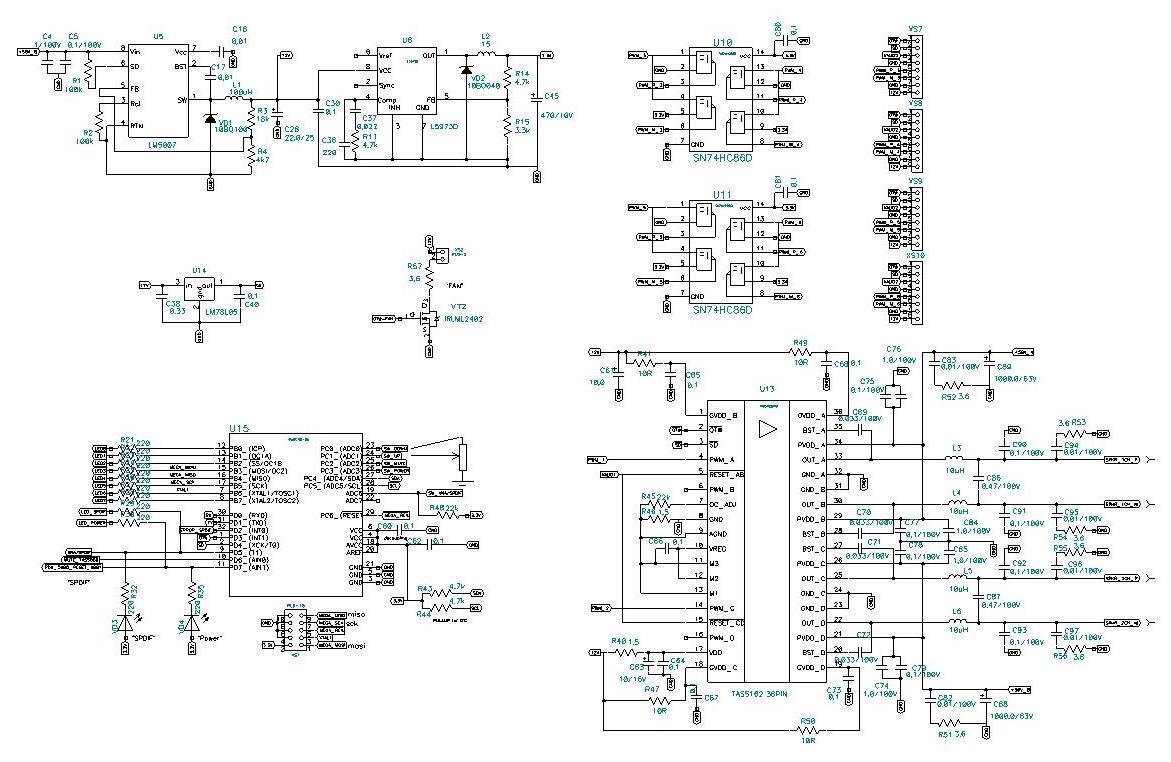 электрические схемы toyota 120