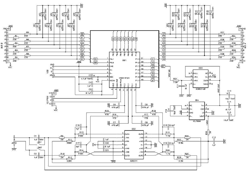 Осциллограф своими руками схема на базе андроид 65