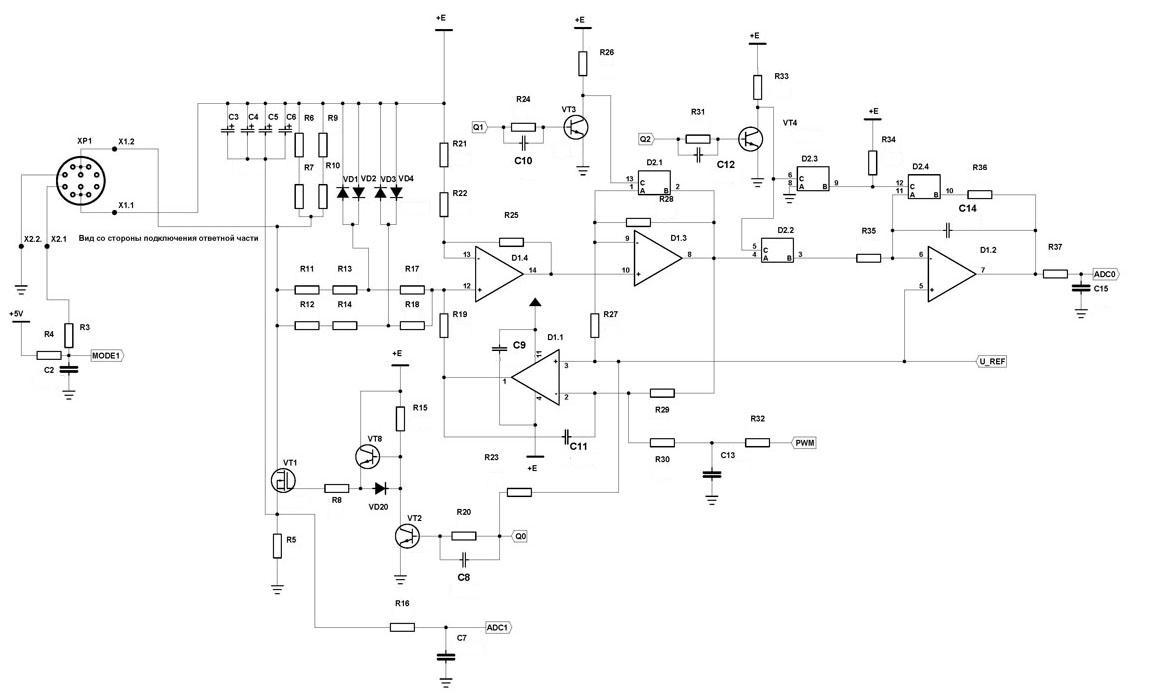 Bm8044 - универсальный импульсный металлоискатель кощей-5им.