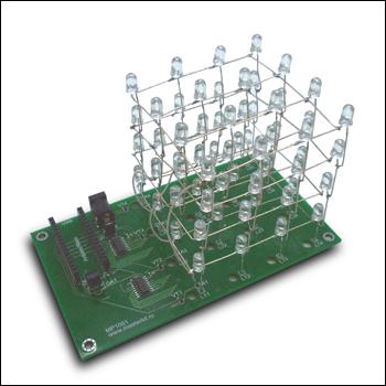 LED CUBE 4x4x4 Nano