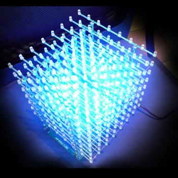 светодиодного куба 8х8х8