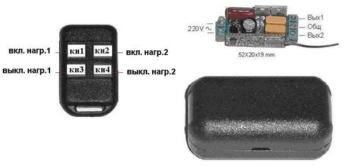 Двухканальный дистанционный
