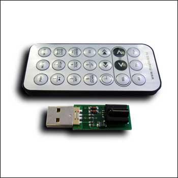 USB ИК приёмник с пультом NEC