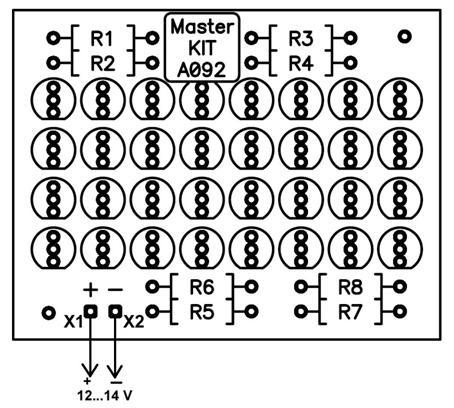 Схема монтажная NK092