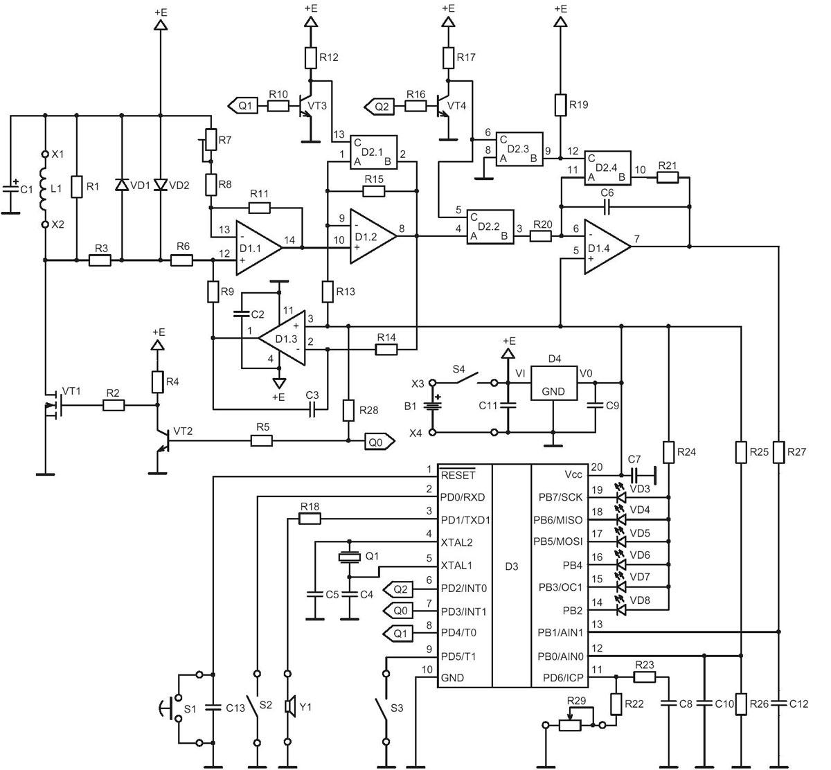 купить импульсный металлоискатель - Нужные схемы и описания для всех.