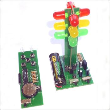 Игрушечный светофор с пультом